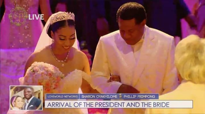 Chris Oyakhilome's daughter weds her Ghanaian Heartthrob