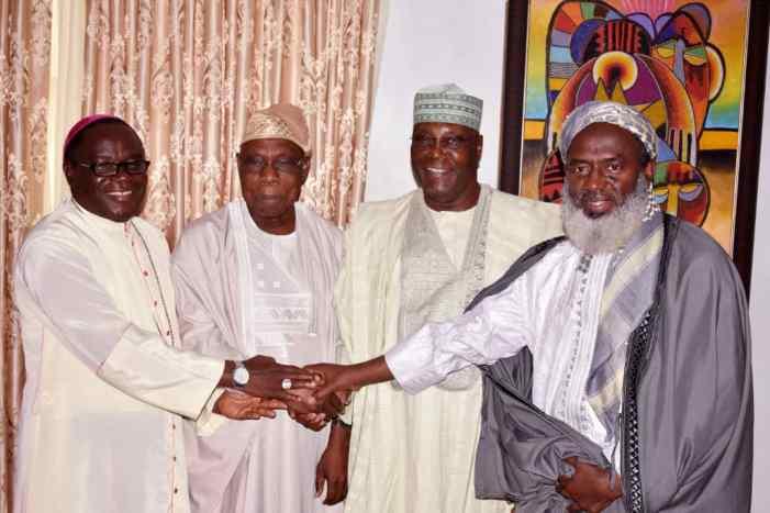 2019:  Obasanjo forgives Atiku, says he's better than Buhari