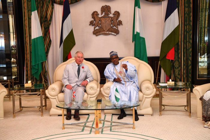 Photos of the day: Prince Charles and Duchess Camilla's Visit to Nigeria in colour
