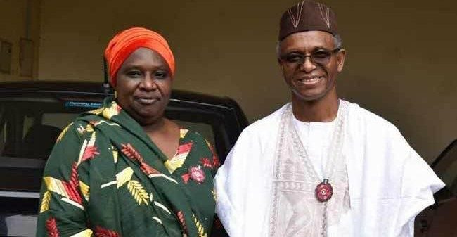 JUST IN: El-Rufai appoints running mate, Hadiza Balarabe as Senior Adviser-Counsellor
