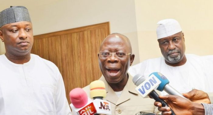 SPECIAL FEATURES: Is Adams Oshiomhole Leading the APC to Destruction?