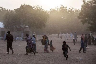Borno:  Boko Haram attacks village, razes 65 houses
