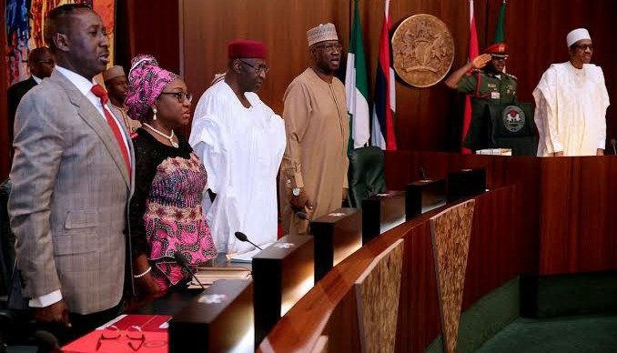 Image result for buhari ministers