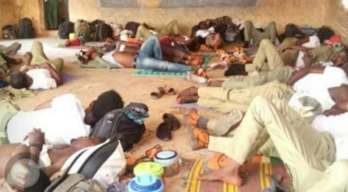 Photos of the day: INEC's Inhumanity to Corpers