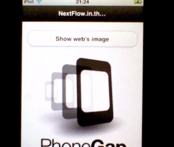 PhoneGap with Whitelist External image from internet