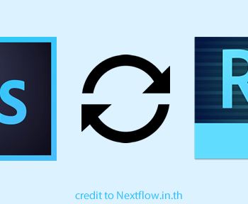 Photoshop CC Connect to Edge Reflow Responsive by nextflow.in.th