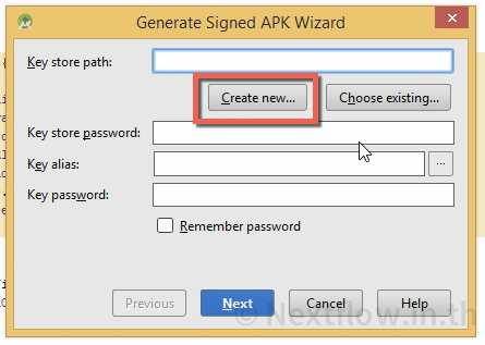 10 Generate Signed APK Wizard