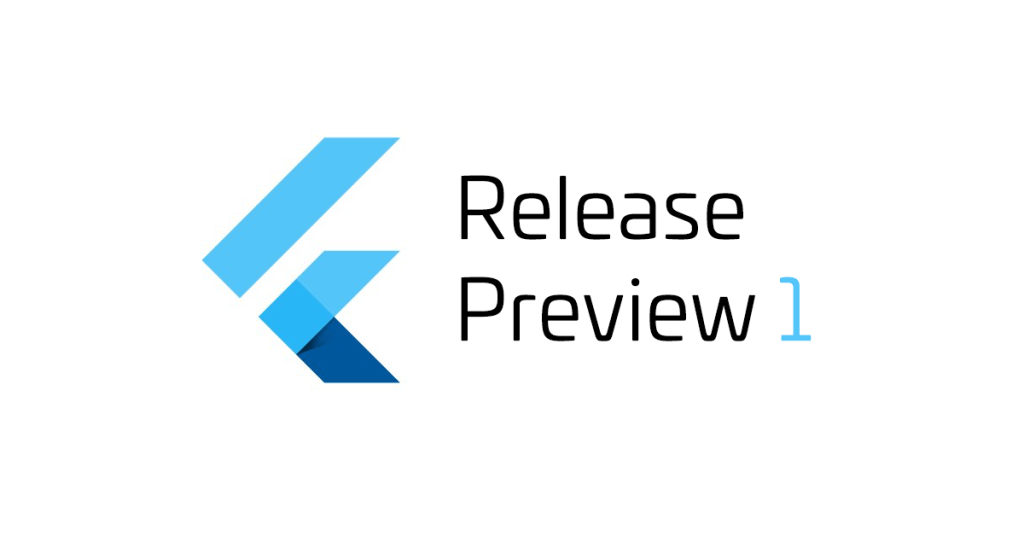Google Flutter - Release Preview 1 - cover
