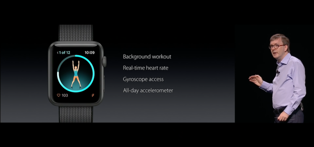 watchOS 3 - Workout App - WWDC