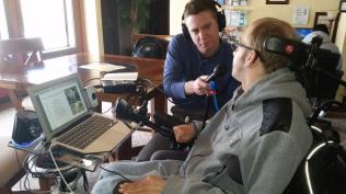 Ryan Interviewing Jesse Leaman