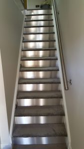 Stainless steel Staircase Fabrication