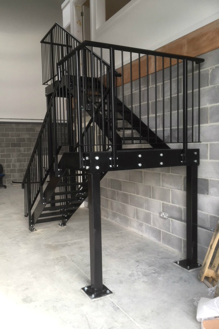 Staircase Fabrication and Welding