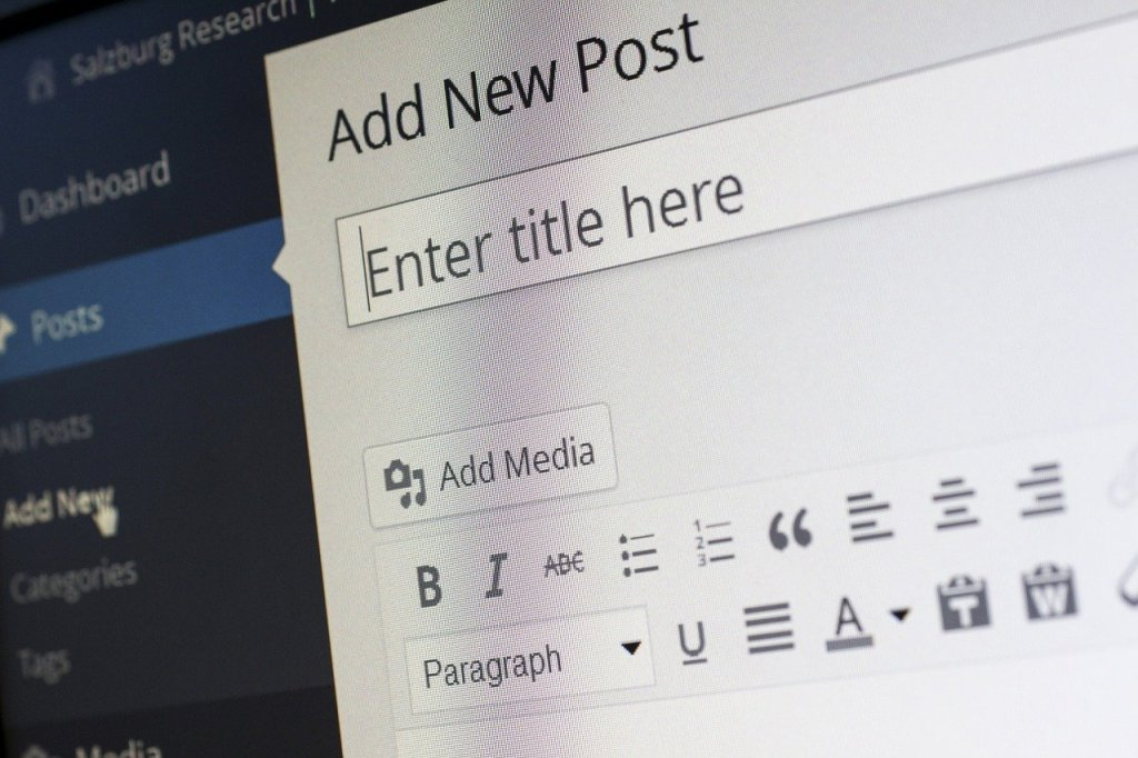 Strona WordPress