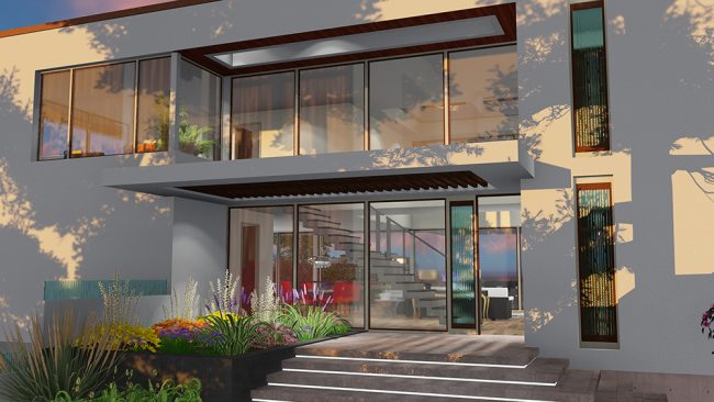 Buy Our 3 Level Beverly Hills Dream House 3d Floor Plan Next Gen Living Homes