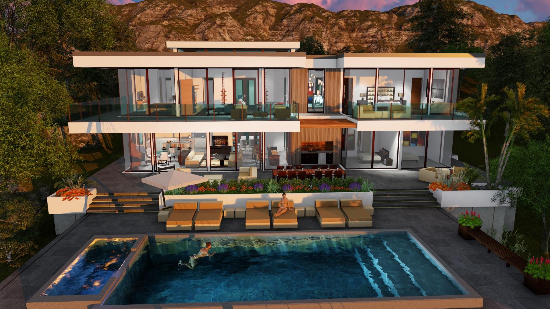 TWO STORY MODERN GLASS HOME DESIGN - Gallery - Next Gen ... on Modern Glass House Design  id=11732