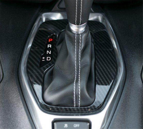 Carbon Fiber Gear Shift Panel   2016-2020 Camaro