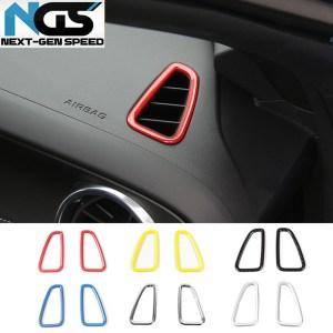Colored/Carbon Fiber Dash Vents   2016-2020 Camaro