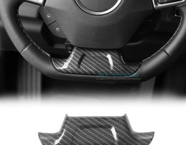 Carbon Fiber/ColoredSteering Wheel Panel | 2016-2020 Camaro