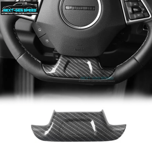 Carbon Fiber/ColoredSteering Wheel Panel | 2016-2020 Chevy Camaro