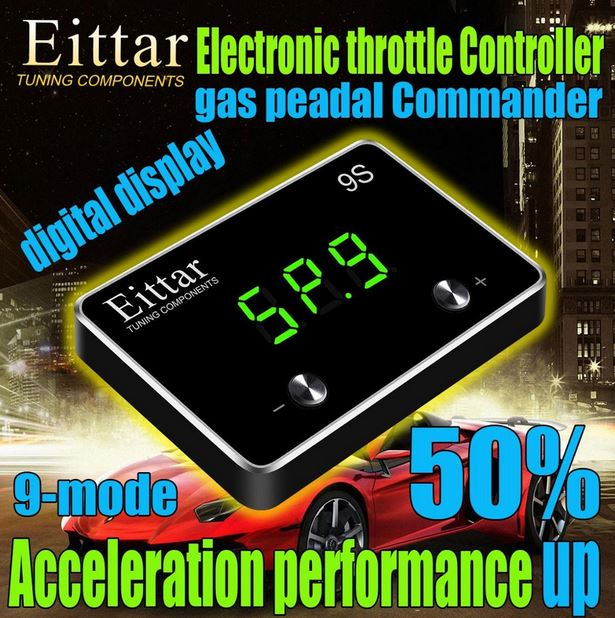 9-Mode Car Electronic Throttle Controller Accelerator For FORD MUSTANG 2011+