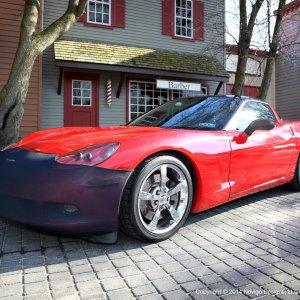 Bumper Mask/Bra | 05-13 Corvette – NoviStretch™