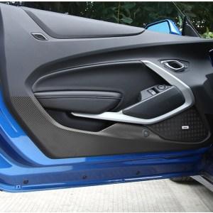 Carbon Fiber Door Vinyl | 2016-2020 Chevy Camaro