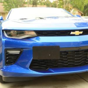 Bumper License Plate Holder | 2016-2021 Chevy Camaro