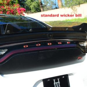 SRT Standard Wicker Bill | 2015-2020 Dodge Charger SRT