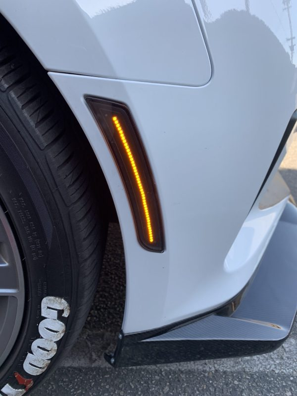 Smoked/Clear LED Side Markers | 2016-2021 Chevy Camaro