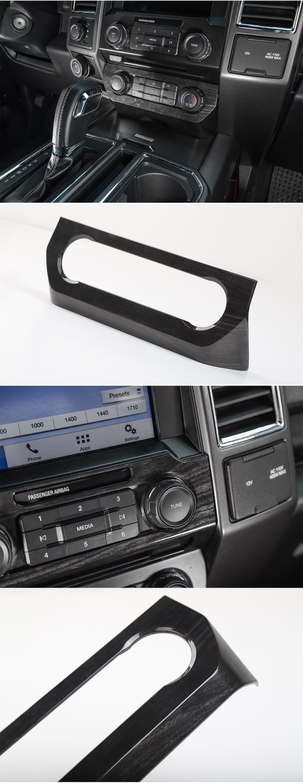Climate Control Frame Cover (5 Finishes) | 2016-2021 Ford F-150