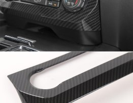 Climate Control Frame Cover (5 Finishes) | 16-18 Ford F-150
