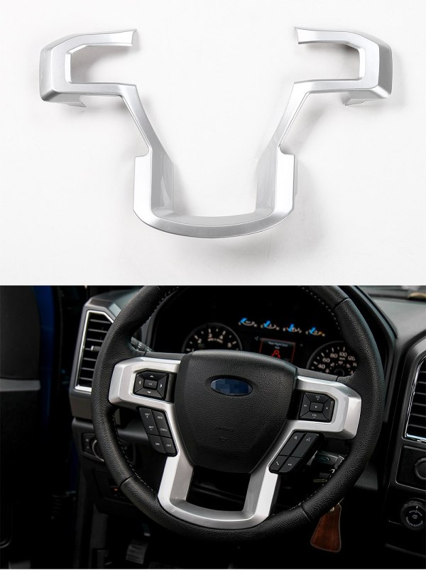 Steering Wheel Frame Cover (5 Finishes) | 2016-2021 Ford F-150