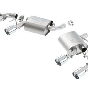 Borla ATAK Axle-Back Exhaust (11931) | 16-19 Camaro V6