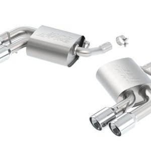 Borla ATAK Axle-Back Exhaust (11926)   2016-2021 Camaro V6