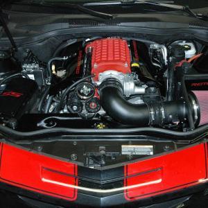 Camaro V8 Magnuson 2300 Cold Air Intake 10-15 Camaro Oiled Filter Roto-fab
