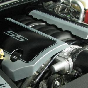 Chevrolet SS Aluminum Engine Covers 14-15 Chevrolet SS Sedan Bare Roto-fab