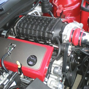 Camaro 2300 S/C Engine Covers 13-15 Camaro Painted Roto-fab
