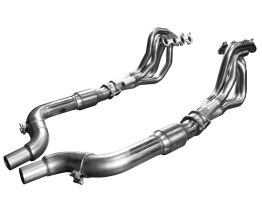 2015 + Mustang 5.0L 4V 1 3/4 x 3 Inch Stainless Steel Headers w/Catted OEM Connection