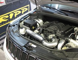 Jeep Grand Cherokee Supercharger 2015 SRT8 6.4L Silver RIPP Superchargers