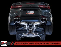AWE Tuning Touring Axle-back Exhaust – Quad Exhaust | 16-19 Camaro SS/ZL1
