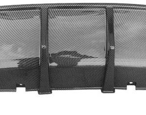 Carbon Fiber Single Tip SRT Diffuser | 2015-2021 Dodge Charger