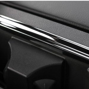 Rear Cup Holder Frame Cover (5 Finishes) | 2016-2021 Ford F-150