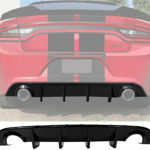 Single Tip SRT Diffuser | 2015-2021 Dodge Charger