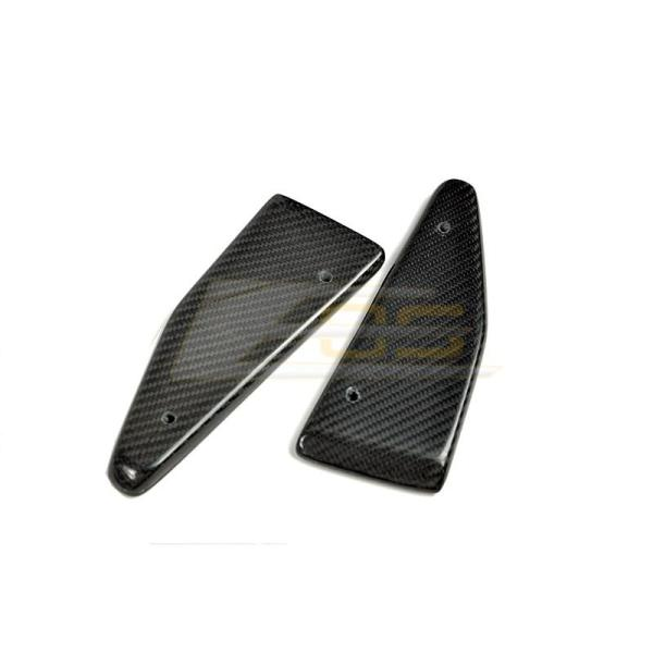 Carbon Fiber Front Splitter End Caps   2016+ Camaro T6 Splitter/2014-19 Corvette C7 Z06 Stage 2 Splitter