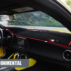 Interior Dashboard Mat Cover (Black/Red/Yellow) | 2016-2020 Chevy Camaro