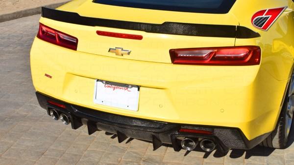 C7Carbon Race Edition Quad Diffuser | 2016-2021 Chevy Camaro