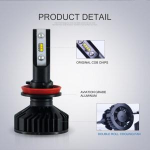 VLAND LED Car Headlight Bulbs |  D2H