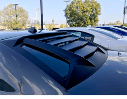 Rear Window Louvers v2 | 2011-19 Charger