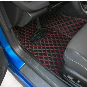 Diamond Stitch Interior Mats (Many Colors) | 2010 – 2015 Chevy Camaro