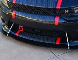 Premium GT4 Splitter Rods | 2015-2020 Charger